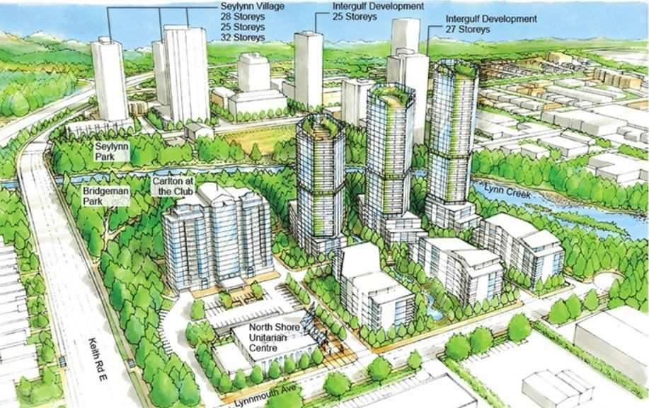Lynn Creek high rise towers proposal