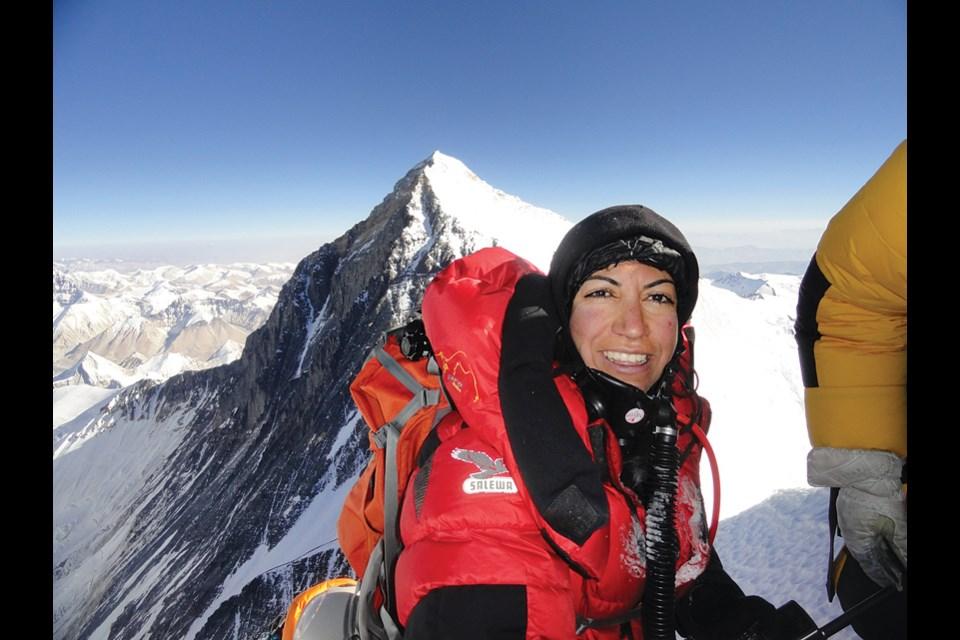 Climber Parvaneh Kazemi will speak at Centennial Theatre on Feb. 12.