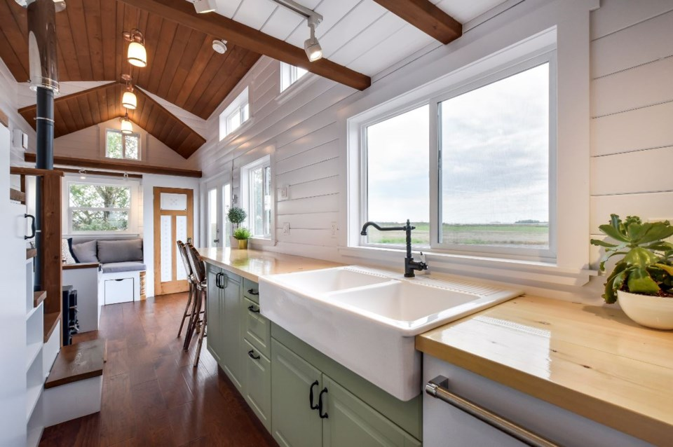 Mint Tiny House Company has built approximately 100 tiny homes since launching in 2014. Photo James