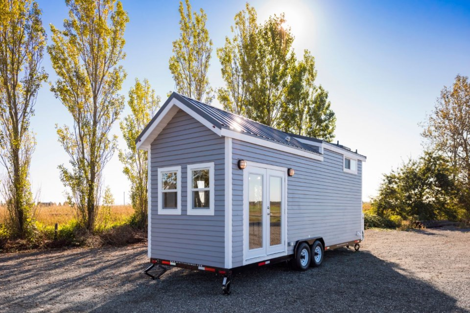 Mint Tiny House Company has built approximately 100 tiny homes since launching in 2014. Photo James Alfred