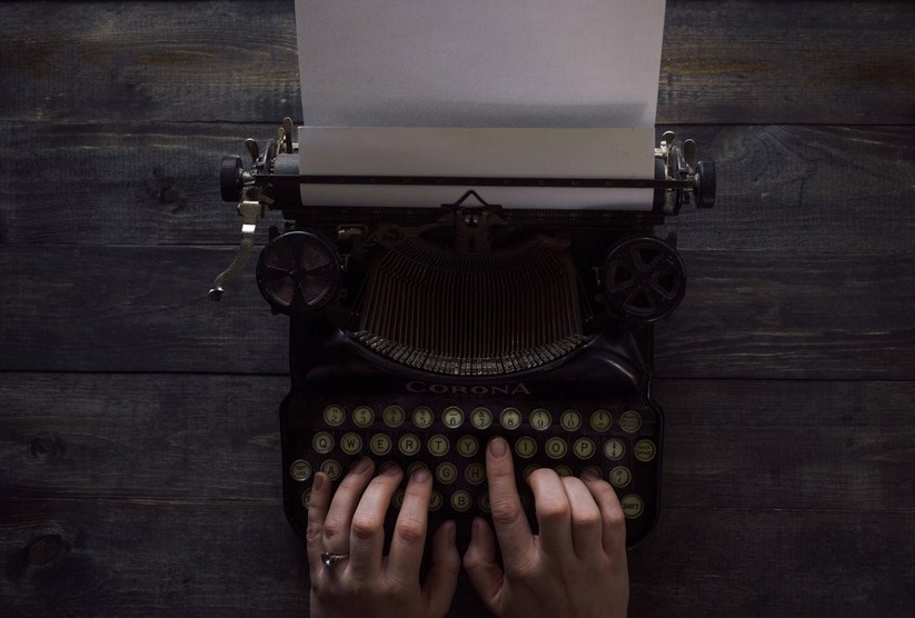 letters typewriter