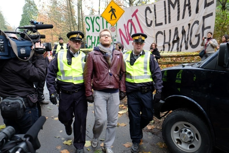 Burnaby Mountain, pipeline protests