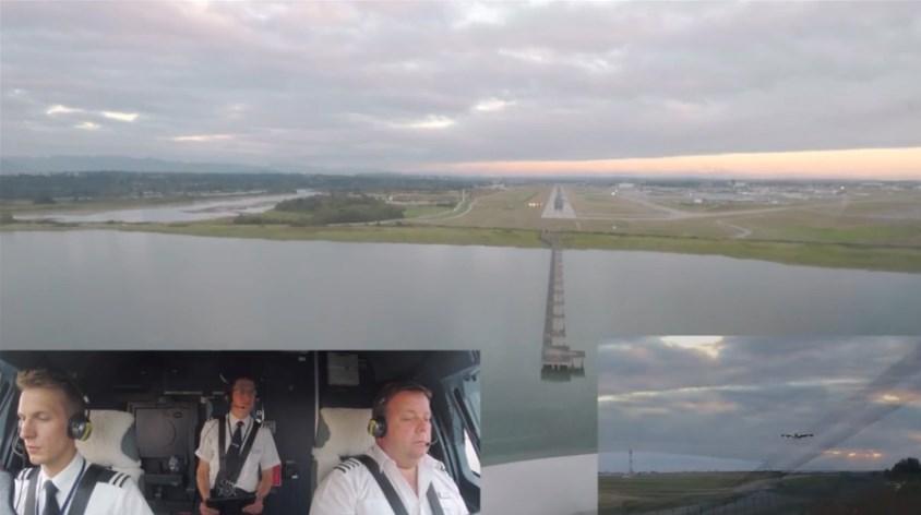 British Airways plane lands in Vancouver