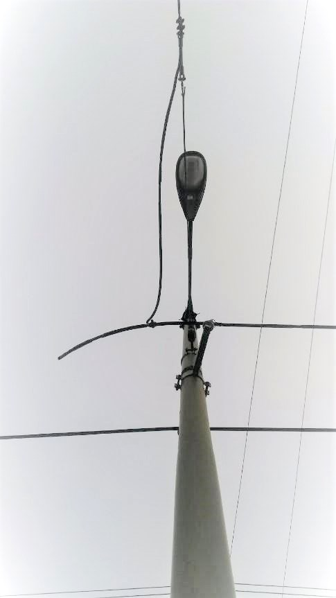 trolley wire theft