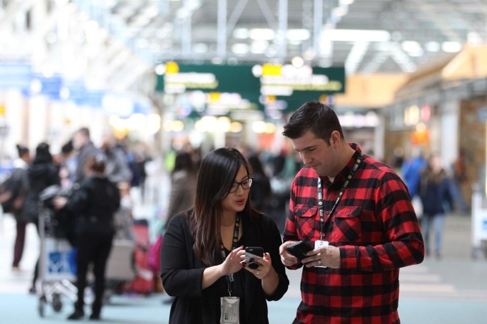 yvr airport social media