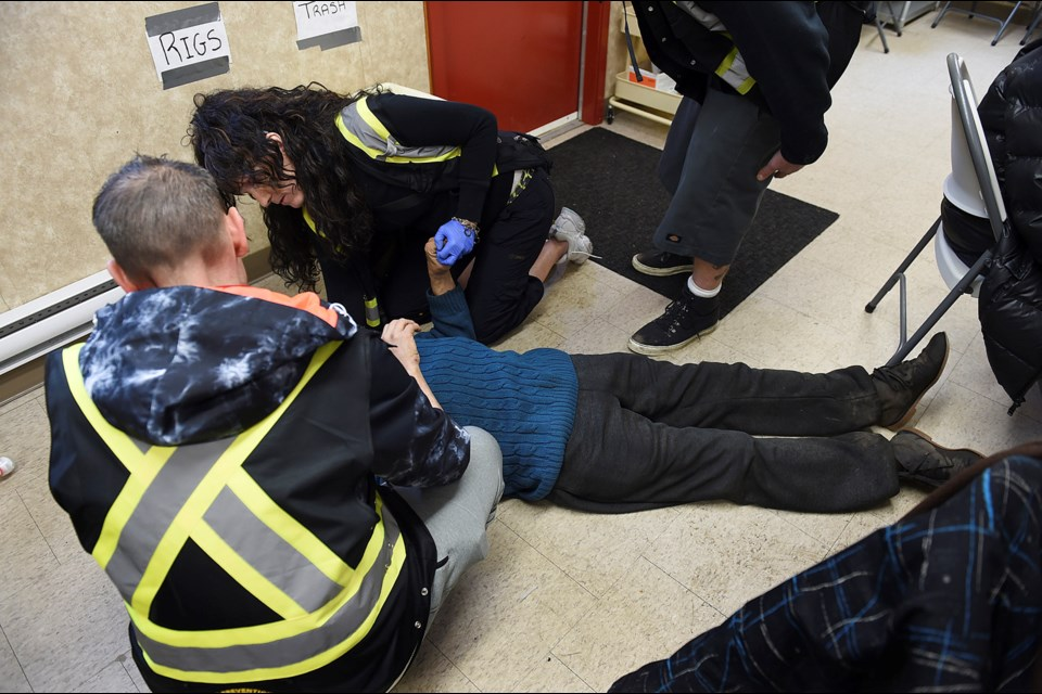 The BC Coroners Service released statistics Tuesday showing 125 people died of a suspected drug overdose in B.C. in January. Photo Dan Toulgoet