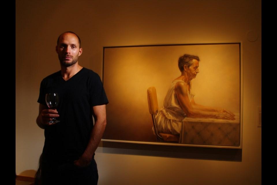 Jay Senetchko is a Vancouver artist who's part of Luminescence III.