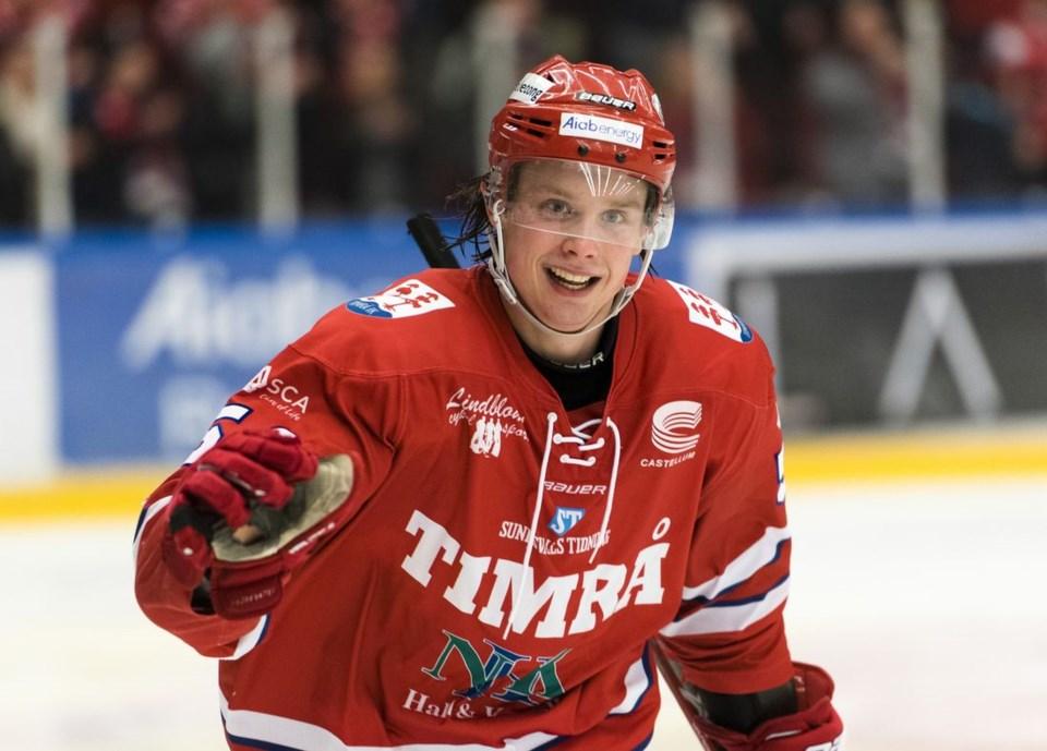 Jonathan Dahlen of Timra IK