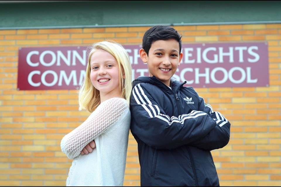 royal family: Betty Sutton is the May Queen and Liam Banziger is the Royal Consort in the 2018 May Queen suite. It's the first time students from Connaught Heights have won the draw for the spots since Kimberley Dawn Bosnic was crowned the May Queen in 1990.
