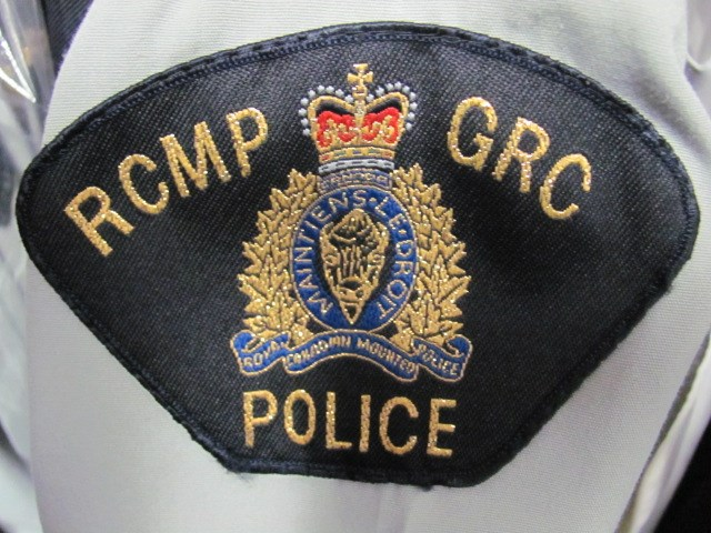 RCMP logo badge shoulder