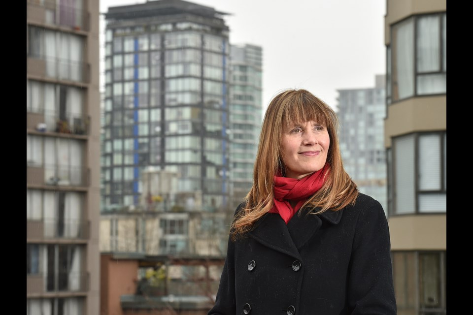 Shauna Sylvester will make it official Thursday at a campaign launch in Gastown that she is running to be the next mayor of Vancouver. Photo Dan Toulgoet