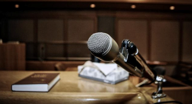 court microphone