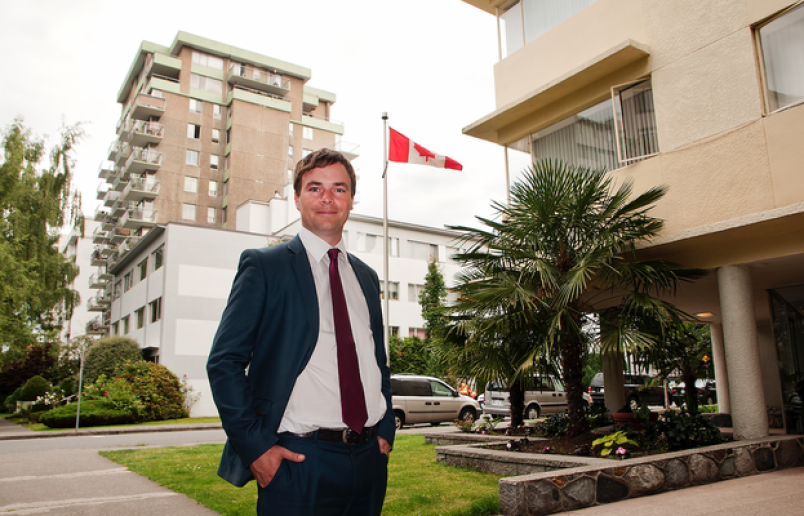 Vancouver-West End MLA Spencer Chandra Herbert is heading up the Rental Housing Task Force. Photo Ch