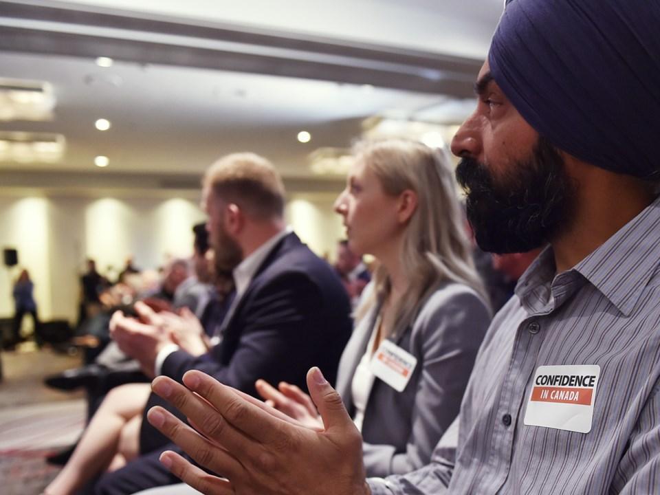 Confidence in Canada press conference