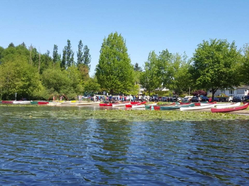 Annual Burnaby canoe course