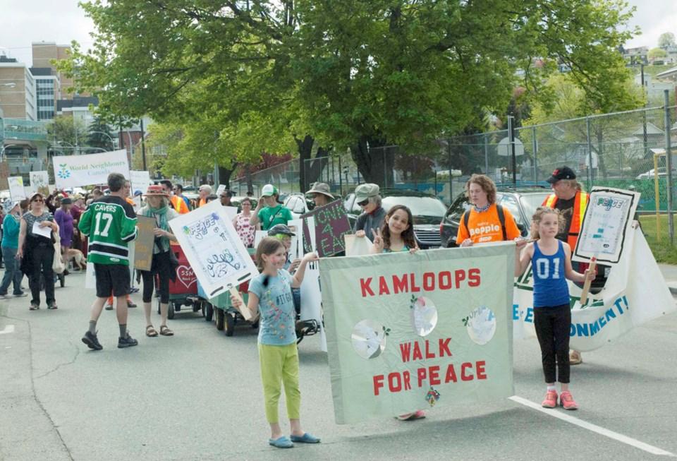 peace walk 2017