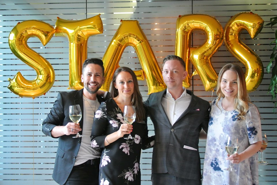 Stars Vancouver Courier's sales team