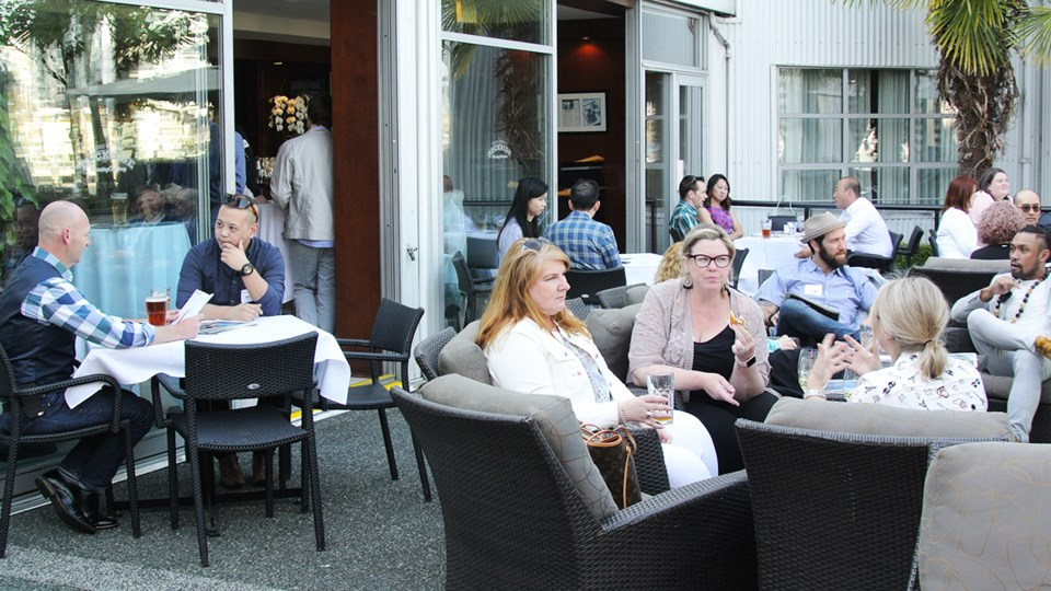 Stars of Vancouver patio