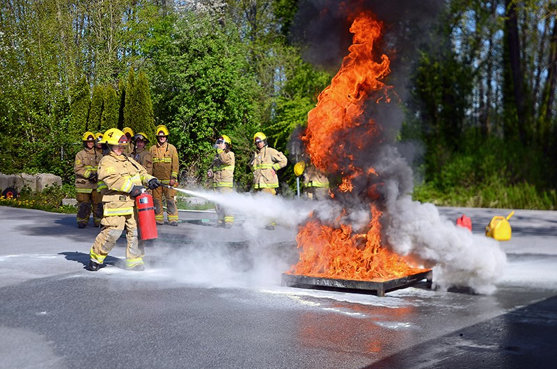 Fifteen local high school students took part in the Burnaby Fire Department's second annual youth academy this week.