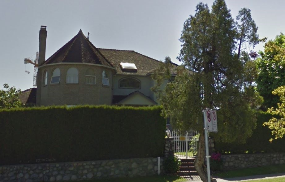 Cambie and King Edward haunted house Google Street View