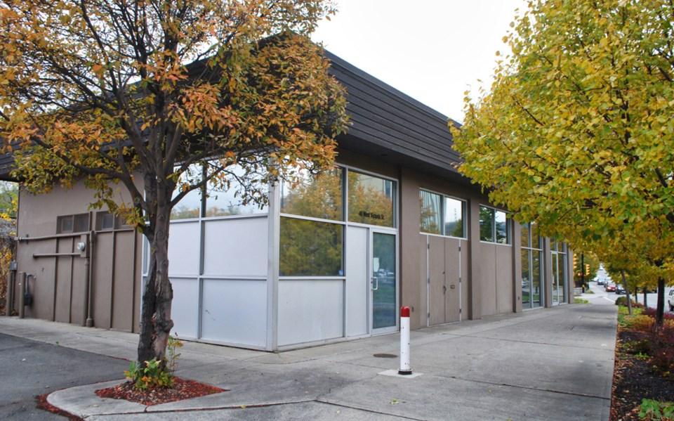 homeless storage facility