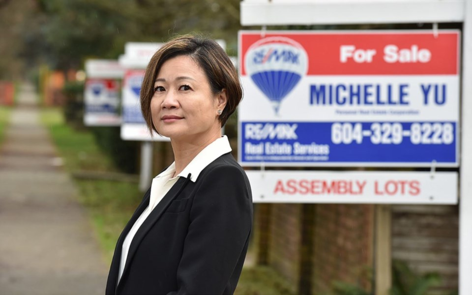 To date, Michelle Yu and her team have sold 17 assembled sites in Vancouver, and field more than 150