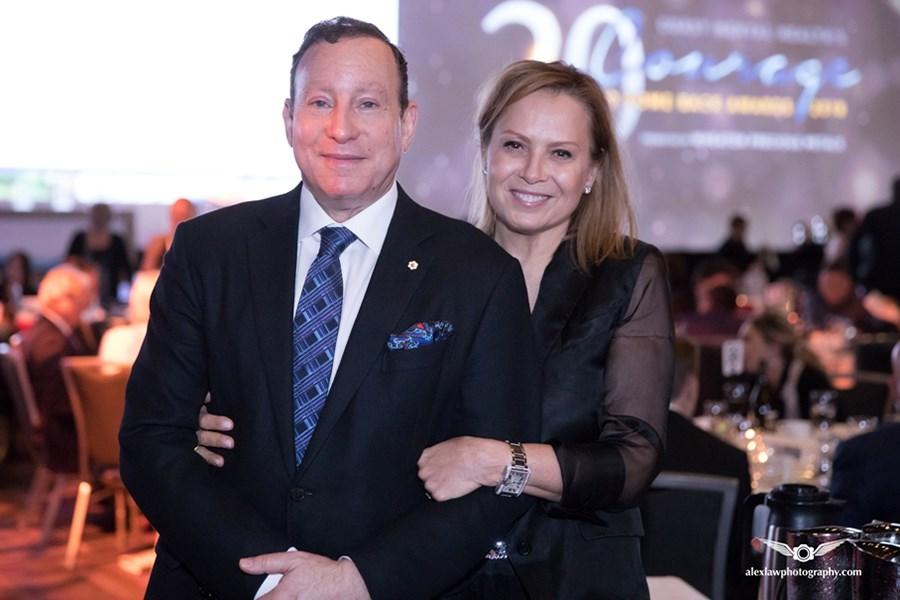 Lorne and Melita Segal Courage 2018