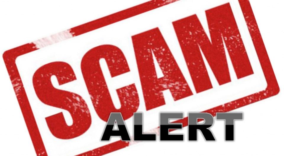scam alert logo