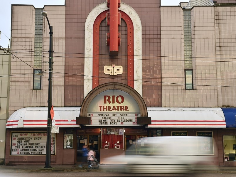 Heritage Vancouver says the Rio Theatre, the recently closed Pronto Cafe and the Hollywood Theatre a