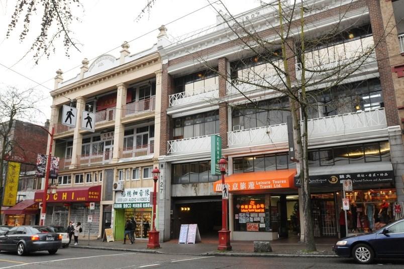 Pender Street in Chinatown. Photo Dan Toulgoet