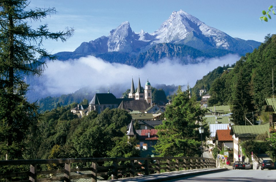 Berchtesgaden sports picturesque views, alpine ambience and even artisanal lederhosen.