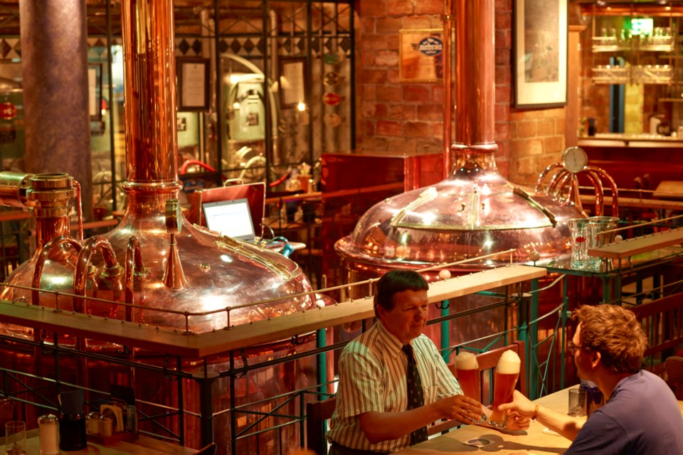 Munich's Airbräu bills itself as the first and only brewery located at an airport.