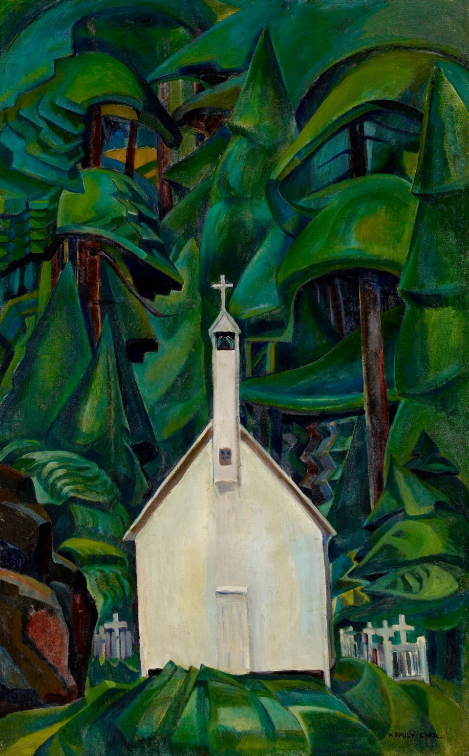 Indian Church, by Emily Carr