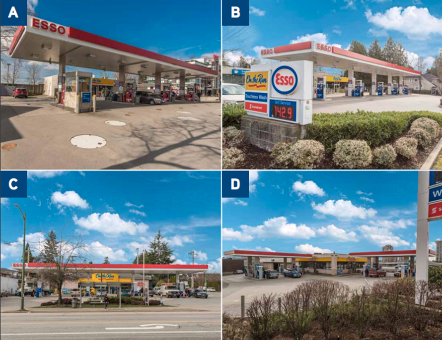 Gas stations for sale in Vancouver