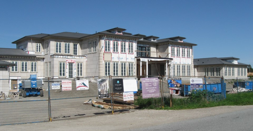 mega mansion no. 4 and Steveston Highway