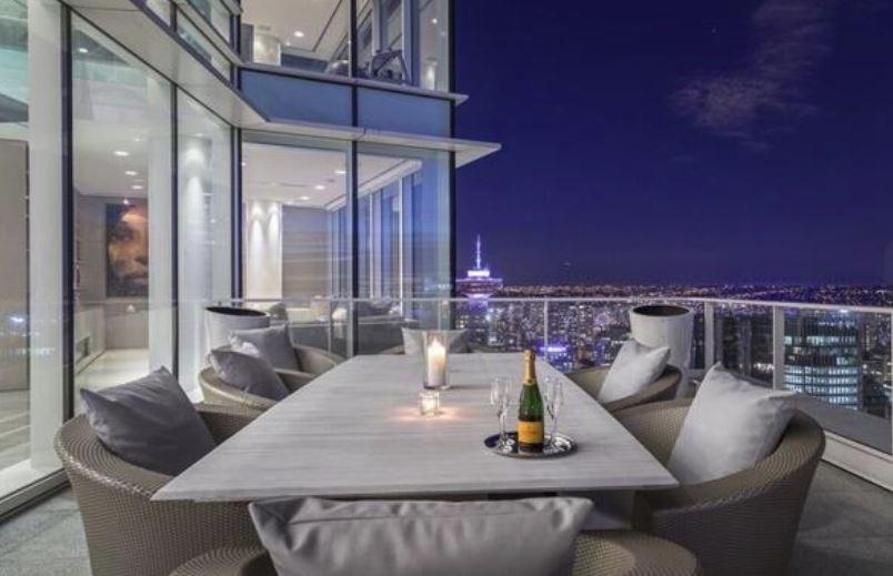 Canada priciest home Coal Harbour penthouse terrace