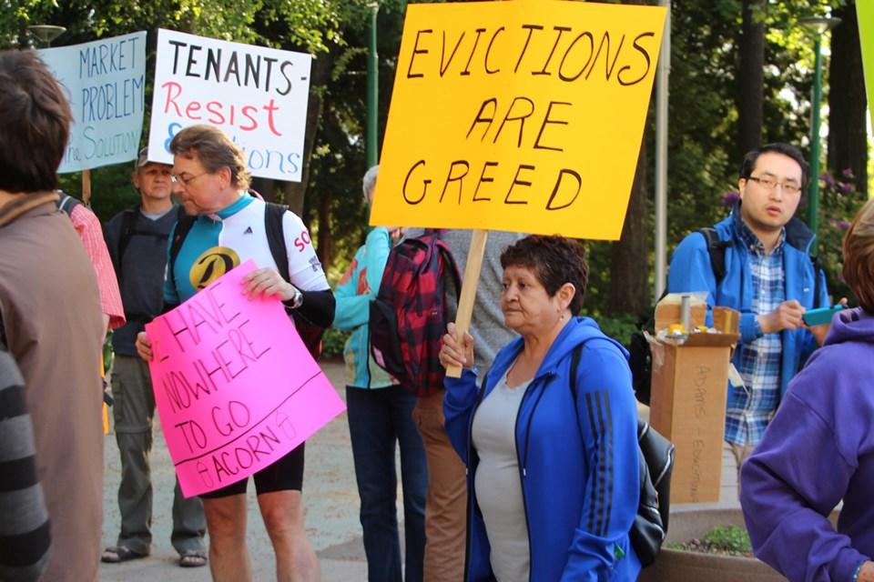 demoviction hearing