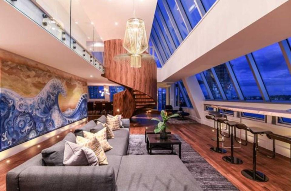 Harwood penthouse main
