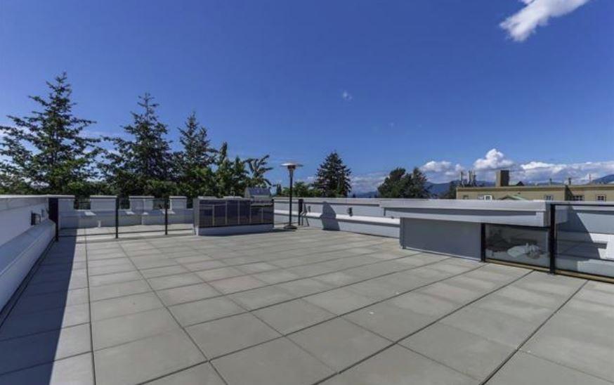 Castle house East Vancouver roof terrace