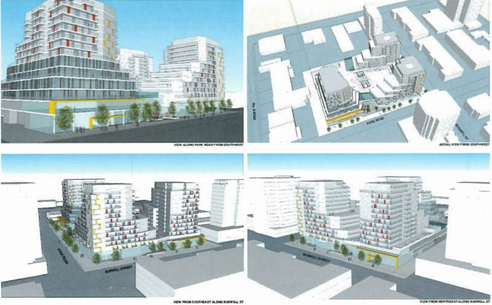 Richmond Brighouse mixed-use development