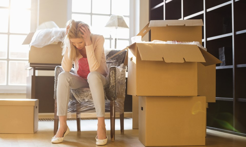 moving home stress boxes