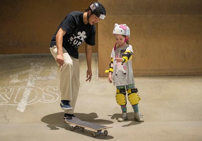 skateboarding delta