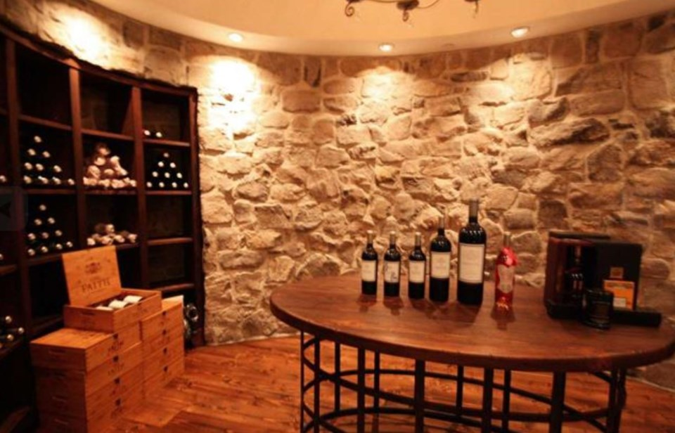 Southlands forest house wine cellar