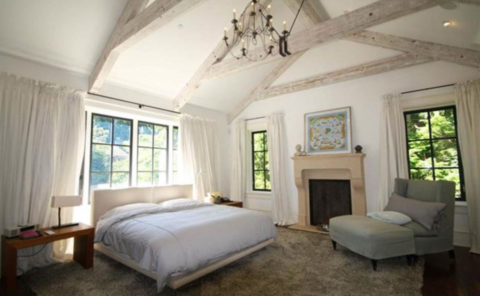 Southlands forest house master bedroom