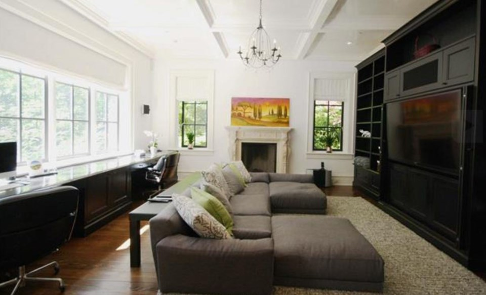 Southlands forest house family room