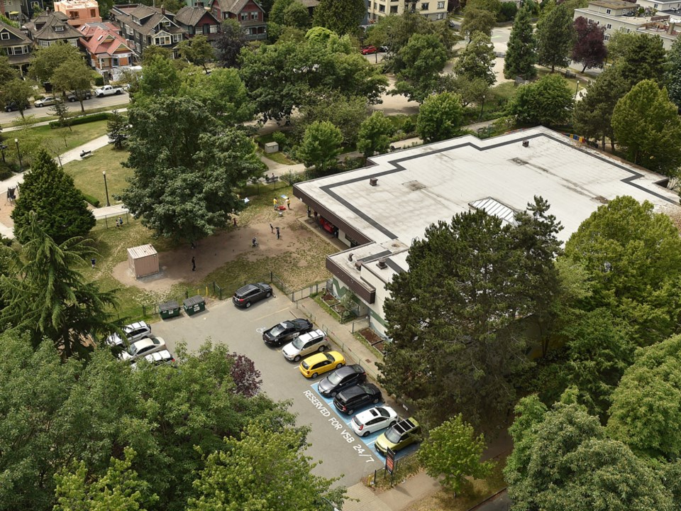 Lord Roberts annex parking lot