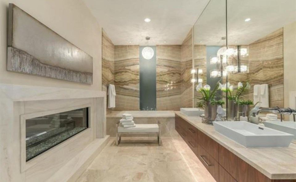 Chartwell most expensive house master bathroom