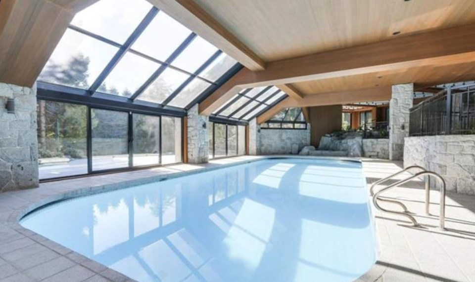 Chartwell most expensive house indoor pool