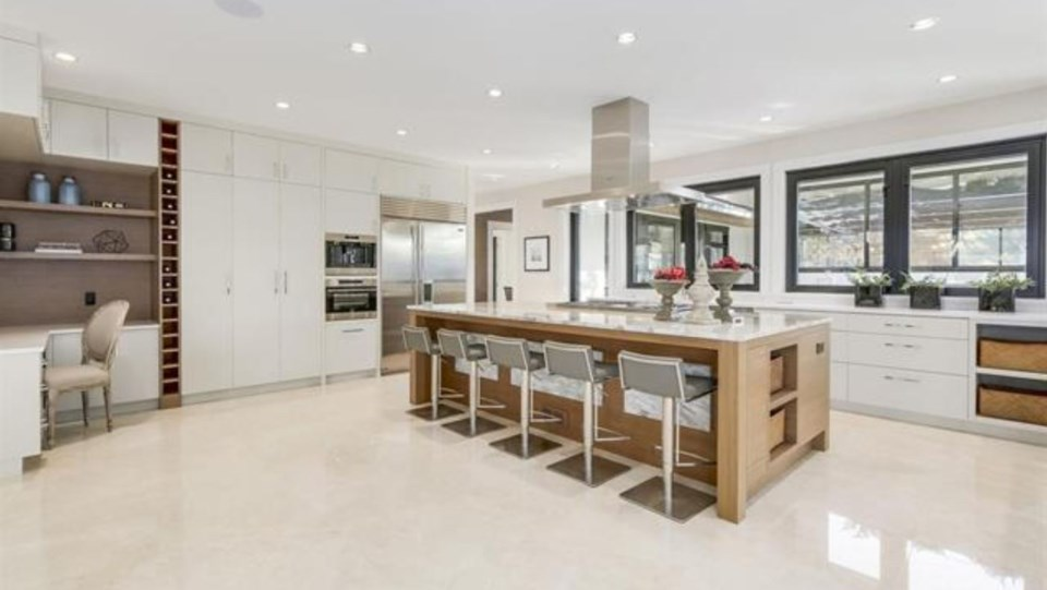 Chartwell most expensive house kitchen