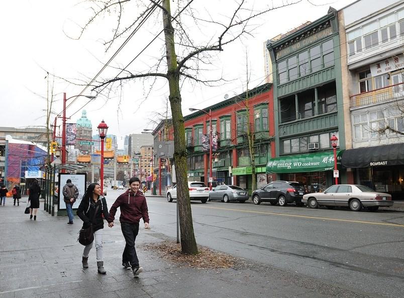 Pender Street. Photo Dan Toulgoet